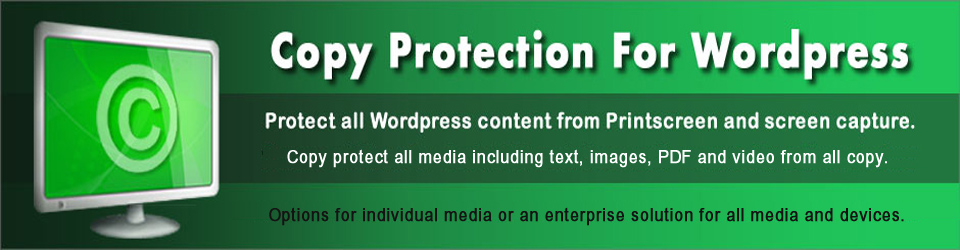 Copy Protection for WordPress